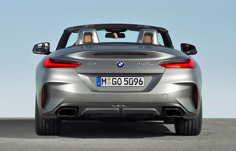 Toate informațiile despre noul BMW Z4: trei motorizări pe benzină și doar 10 secunde pentru acționarea plafonului soft-top - Poza 14