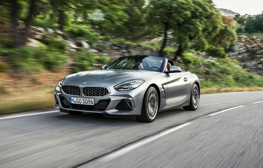 Toate informațiile despre noul BMW Z4: trei motorizări pe benzină și doar 10 secunde pentru acționarea plafonului soft-top - Poza 32