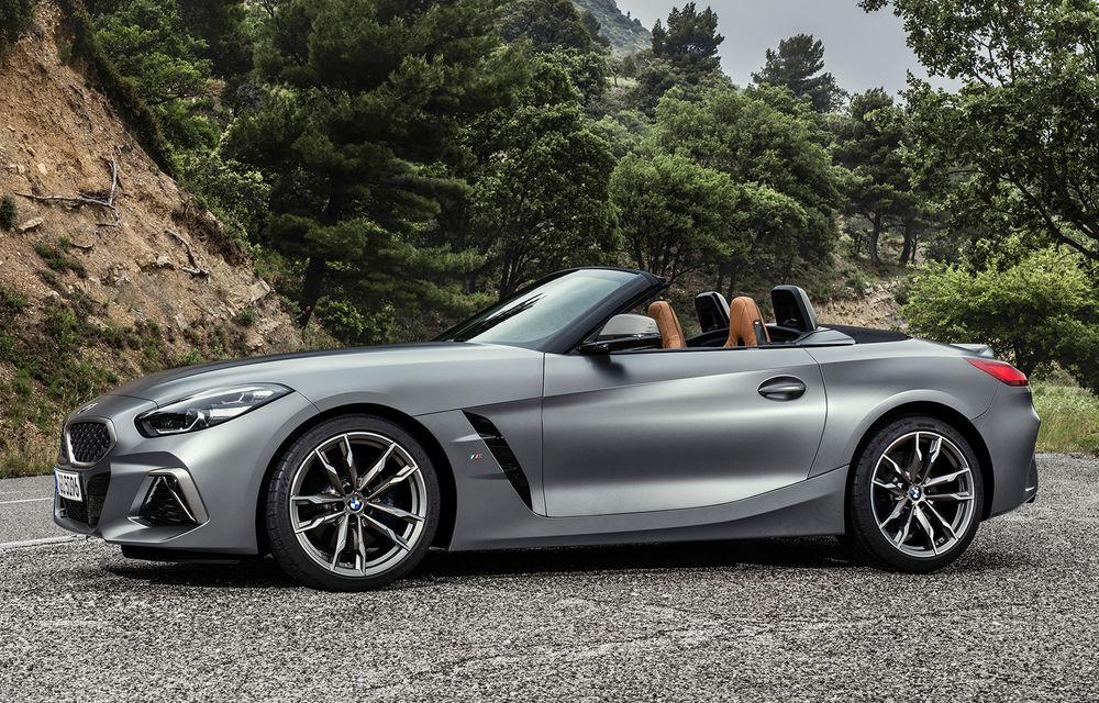 Toate informațiile despre noul BMW Z4: trei motorizări pe benzină și doar 10 secunde pentru acționarea plafonului soft-top - Poza 45