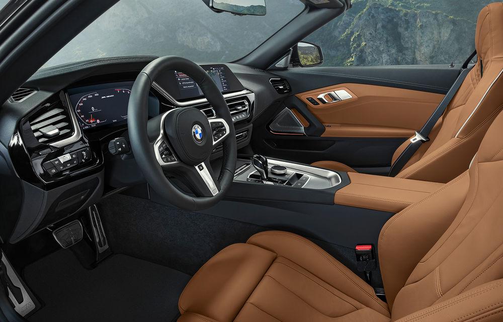 Toate informațiile despre noul BMW Z4: trei motorizări pe benzină și doar 10 secunde pentru acționarea plafonului soft-top - Poza 49