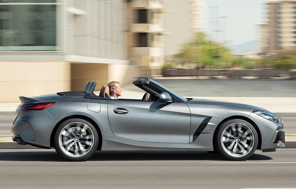 Toate informațiile despre noul BMW Z4: trei motorizări pe benzină și doar 10 secunde pentru acționarea plafonului soft-top - Poza 7