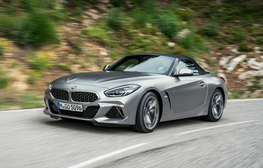 Toate informațiile despre noul BMW Z4: trei motorizări pe benzină și doar 10 secunde pentru acționarea plafonului soft-top - Poza 26