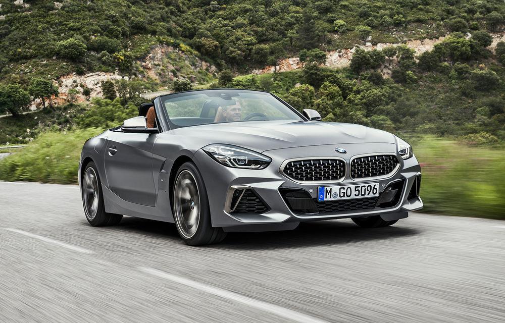Toate informațiile despre noul BMW Z4: trei motorizări pe benzină și doar 10 secunde pentru acționarea plafonului soft-top - Poza 44