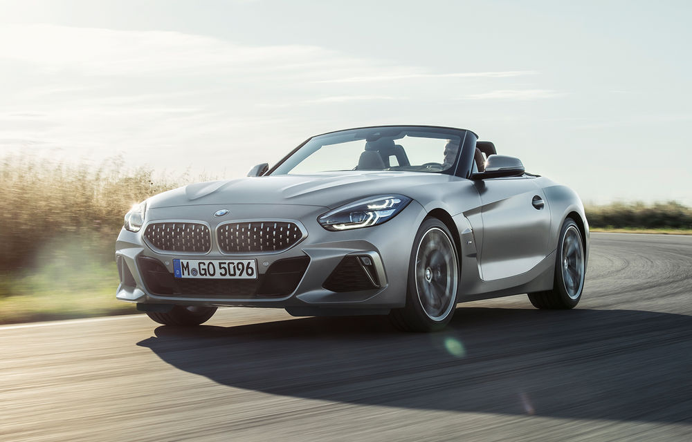 Toate informațiile despre noul BMW Z4: trei motorizări pe benzină și doar 10 secunde pentru acționarea plafonului soft-top - Poza 3