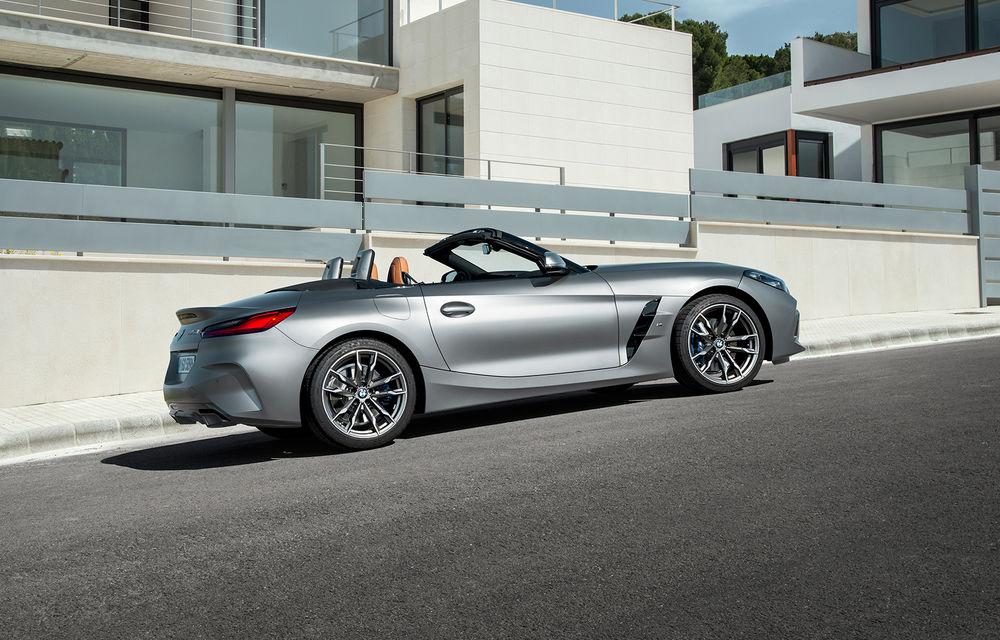 Toate informațiile despre noul BMW Z4: trei motorizări pe benzină și doar 10 secunde pentru acționarea plafonului soft-top - Poza 9