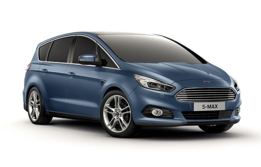 Ford S-Max și Galaxy primesc îmbunătățiri: motor diesel EcoBlue de 2.0 litri în versiuni de la 120 CP la 240 CP - Poza 3