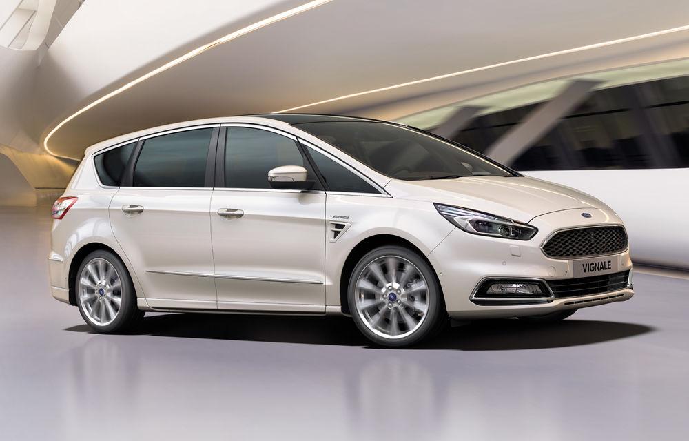 Ford S-Max și Galaxy primesc îmbunătățiri: motor diesel EcoBlue de 2.0 litri în versiuni de la 120 CP la 240 CP - Poza 2