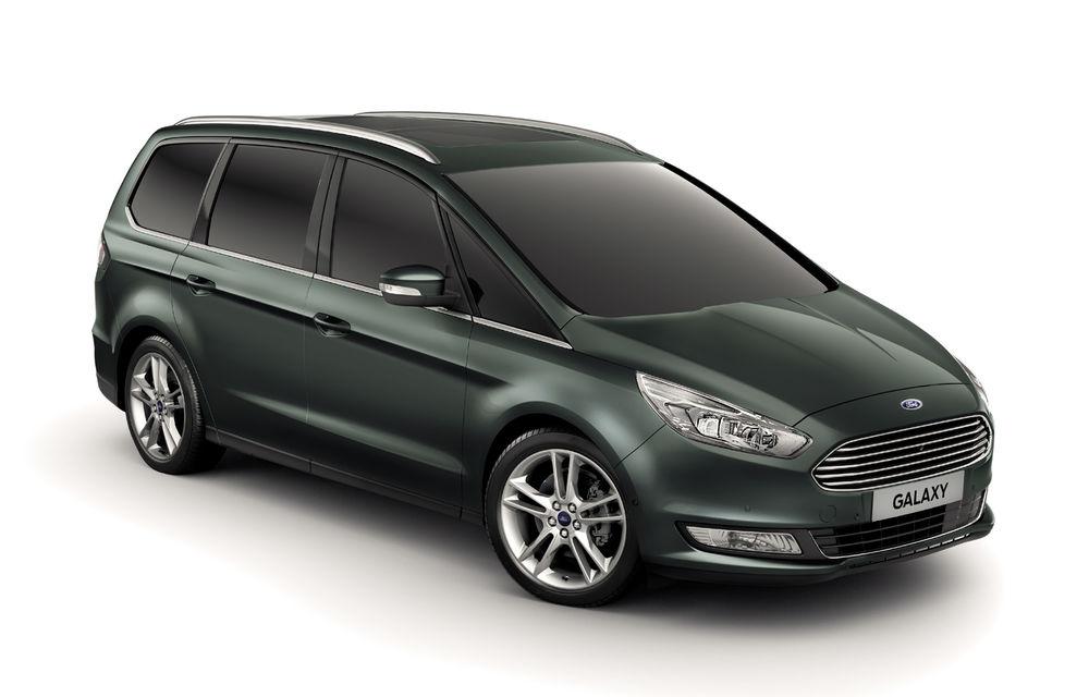 Ford S-Max și Galaxy primesc îmbunătățiri: motor diesel EcoBlue de 2.0 litri în versiuni de la 120 CP la 240 CP - Poza 4