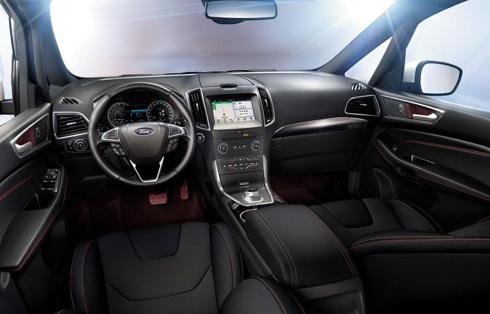 Ford S-Max și Galaxy primesc îmbunătățiri: motor diesel EcoBlue de 2.0 litri în versiuni de la 120 CP la 240 CP - Poza 7