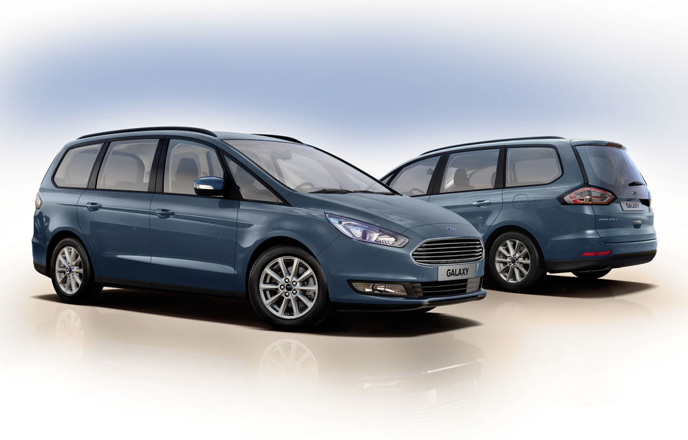 Ford S-Max și Galaxy primesc îmbunătățiri: motor diesel EcoBlue de 2.0 litri în versiuni de la 120 CP la 240 CP - Poza 1