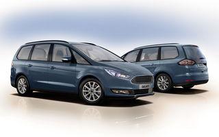 Ford S-Max și Galaxy primesc îmbunătățiri: motor diesel EcoBlue de 2.0 litri în versiuni de la 120 CP la 240 CP