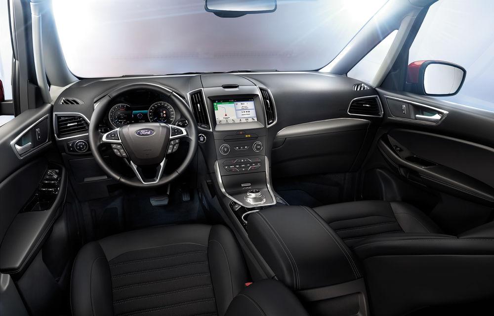 Ford S-Max și Galaxy primesc îmbunătățiri: motor diesel EcoBlue de 2.0 litri în versiuni de la 120 CP la 240 CP - Poza 9