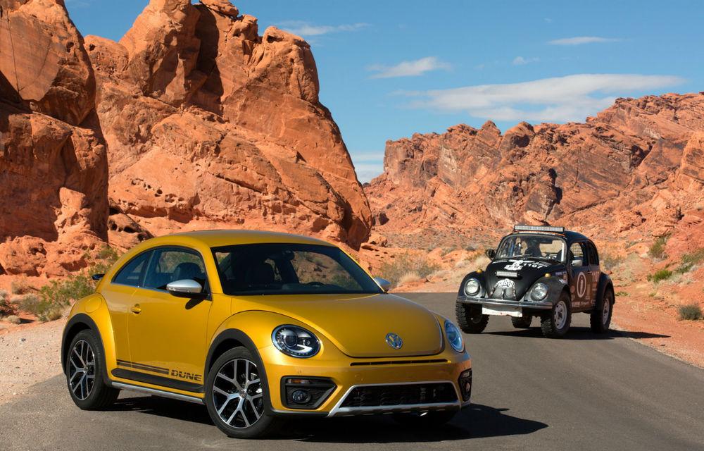 """Volkswagen ar putea lansa o versiune specială de """"rămas bun"""" pentru Beetle: producția """"broscuței"""" va fi oprită la finalul acestei generații - Poza 1"""