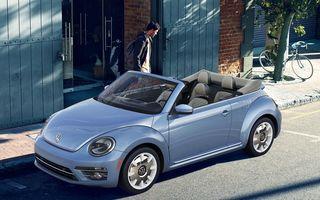 """Confirmare oficială: producția lui VW Beetle va fi oprită în 2019. Versiune specială """"Beetle Final Edition"""" pentru ultimul an al """"broscuței"""""""