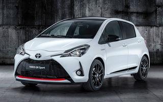 Toyota Yaris GR Sport: echipare sportivă cu modificări la suspensii și sistem hibrid cu motor de 1.5 litri și 100 de cai putere