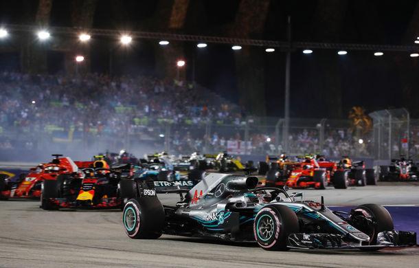 Hamilton, victorie fără emoții în Singapore! Verstappen, locul doi după ce Vettel a încercat fără succes o strategie alternativă - Poza 1