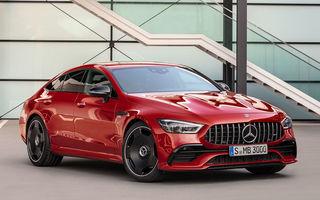 Versiunea cu patru uși a lui Mercedes-AMG GT a intrat în producție: nemții lansează și varianta AMG GT 43 4-Door Coupe cu 367 CP