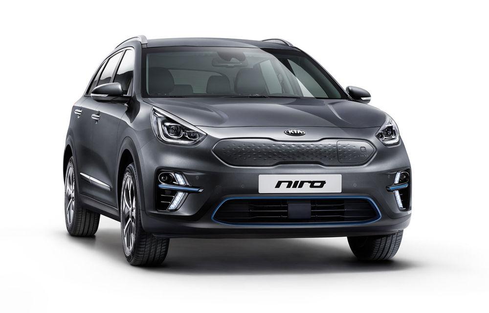 Detalii despre Kia e-Niro: autonomie de 485 de kilometri pentru versiunea echipată cu bateria de 64 kWh - Poza 1