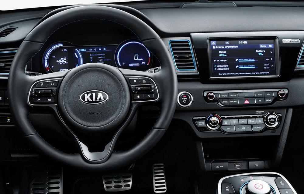 Detalii despre Kia e-Niro: autonomie de 485 de kilometri pentru versiunea echipată cu bateria de 64 kWh - Poza 2