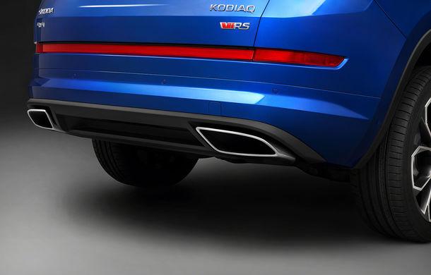 Teasere noi cu viitorul Skoda Kodiaq RS: jante de 20 de inch pentru SUV-ul cu motor diesel de 240 CP - Poza 2