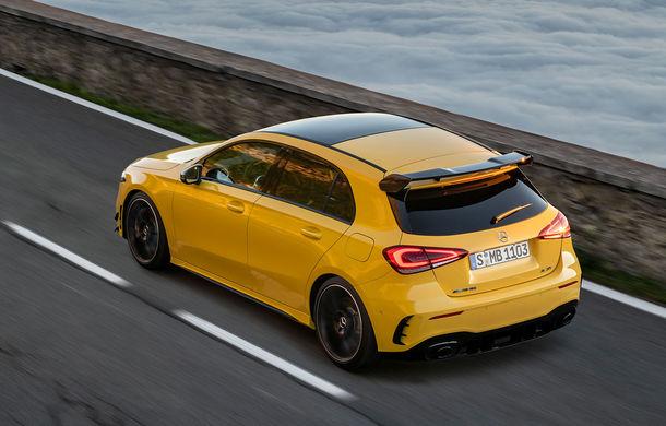 Mercedes a prezentat noul AMG A35: cel mai accesibil AMG din istorie are 306 CP și tracțiune integrală - Poza 3
