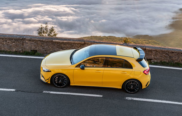 Mercedes a prezentat noul AMG A35: cel mai accesibil AMG din istorie are 306 CP și tracțiune integrală - Poza 4