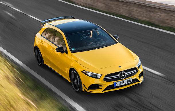 Mercedes a prezentat noul AMG A35: cel mai accesibil AMG din istorie are 306 CP și tracțiune integrală - Poza 14