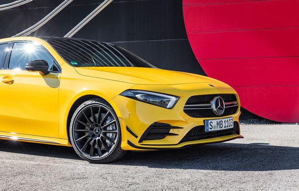 Mercedes a prezentat noul AMG A35: cel mai accesibil AMG din istorie are 306 CP și tracțiune integrală - Poza 27