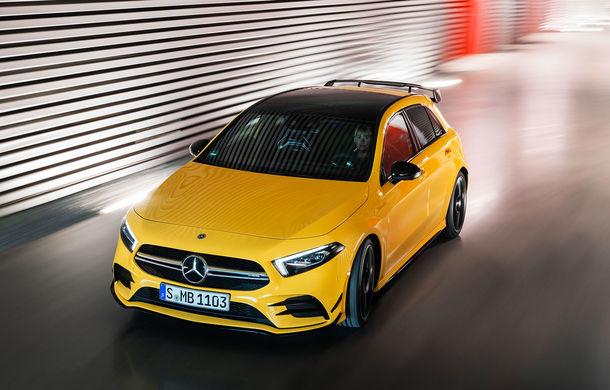 Mercedes a prezentat noul AMG A35: cel mai accesibil AMG din istorie are 306 CP și tracțiune integrală - Poza 10