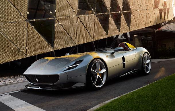 """Ferrari a prezentat noile Monza SP1 și SP2: modelele fac parte din noua serie """"Icona"""" și vin cu cel mai puternic V12 din istoria companiei - Poza 1"""