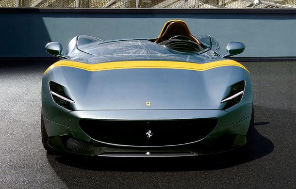 """Ferrari a prezentat noile Monza SP1 și SP2: modelele fac parte din noua serie """"Icona"""" și vin cu cel mai puternic V12 din istoria companiei - Poza 4"""