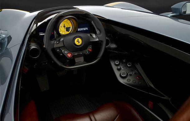 """Ferrari a prezentat noile Monza SP1 și SP2: modelele fac parte din noua serie """"Icona"""" și vin cu cel mai puternic V12 din istoria companiei - Poza 8"""