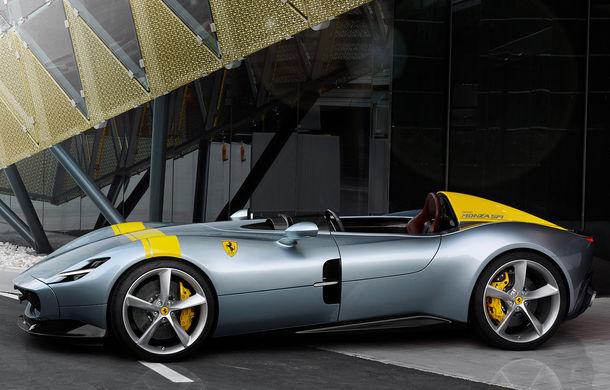 """Ferrari a prezentat noile Monza SP1 și SP2: modelele fac parte din noua serie """"Icona"""" și vin cu cel mai puternic V12 din istoria companiei - Poza 6"""