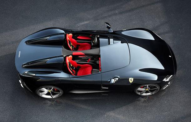 """Ferrari a prezentat noile Monza SP1 și SP2: modelele fac parte din noua serie """"Icona"""" și vin cu cel mai puternic V12 din istoria companiei - Poza 10"""