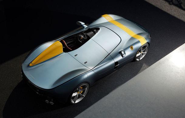 """Ferrari a prezentat noile Monza SP1 și SP2: modelele fac parte din noua serie """"Icona"""" și vin cu cel mai puternic V12 din istoria companiei - Poza 5"""
