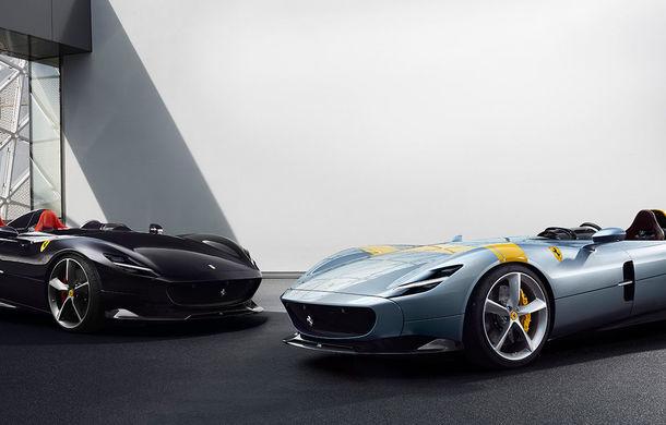"""Ferrari a prezentat noile Monza SP1 și SP2: modelele fac parte din noua serie """"Icona"""" și vin cu cel mai puternic V12 din istoria companiei - Poza 9"""