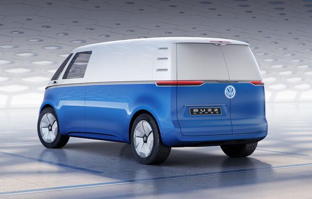 Volkswagen a prezentat conceptul ID Buzz Cargo: nivel 4 de conducere autonomă și peste 550 de kilometri rulați electric - Poza 2