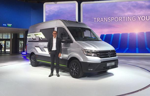 Volkswagen a prezentat conceptul ID Buzz Cargo: nivel 4 de conducere autonomă și peste 550 de kilometri rulați electric - Poza 3