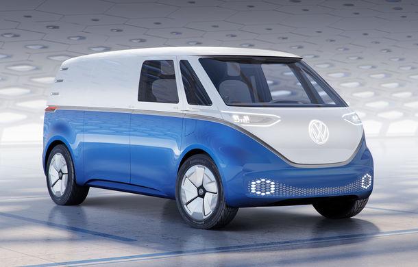Volkswagen a prezentat conceptul ID Buzz Cargo: nivel 4 de conducere autonomă și peste 550 de kilometri rulați electric - Poza 1