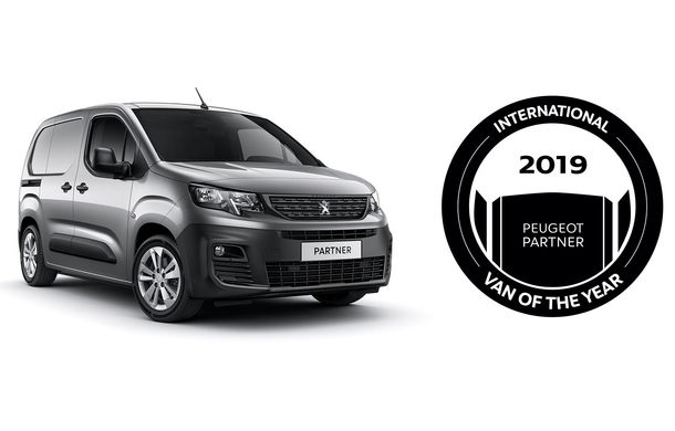 Hattrick PSA: Peugeot Partner, Citroen Berlingo și Opel Combo împart titlul International Van of the Year 2019 - Poza 3