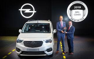Hattrick PSA: Peugeot Partner, Citroen Berlingo și Opel Combo împart titlul International Van of the Year 2019