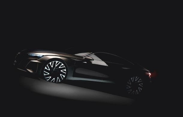 Audi e-tron GT Concept apare în noiembrie: germanii pregătesc lansarea unei sportive electrice - Poza 1