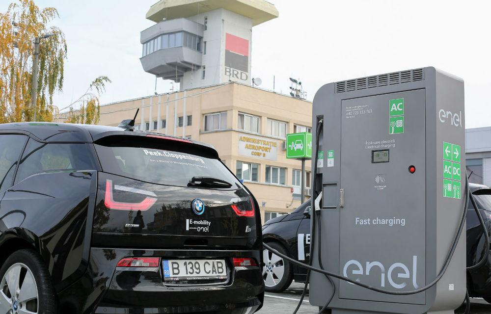 Infrastructura pentru mașinile electrice, ignorată de autorități, dar prioritate pentru mediul privat: Enel vrea să construiască o rețea de stații de încărcare în România - Poza 1