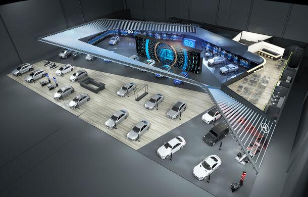 Noua generație Mercedes-Benz Clasa B vine în octombrie: modelul va împărți standul de la Paris cu noile EQC, GLE și A35 AMG - Poza 1