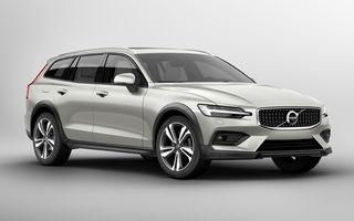 Noul Volvo V60 Cross Country: gardă la sol cu 75 mm mai mare decât V60, tracțiune integrală și două motorizări