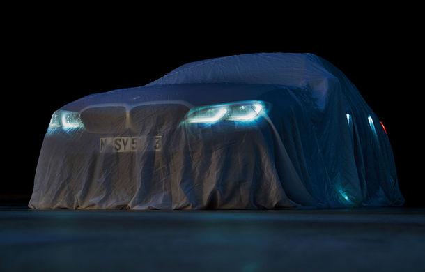 BMW a publicat o nouă imagine teaser cu viitorul Seria 3: sedanul de clasă medie debutează în 2 octombrie în cadrul Salonului Auto de la Paris - Poza 1