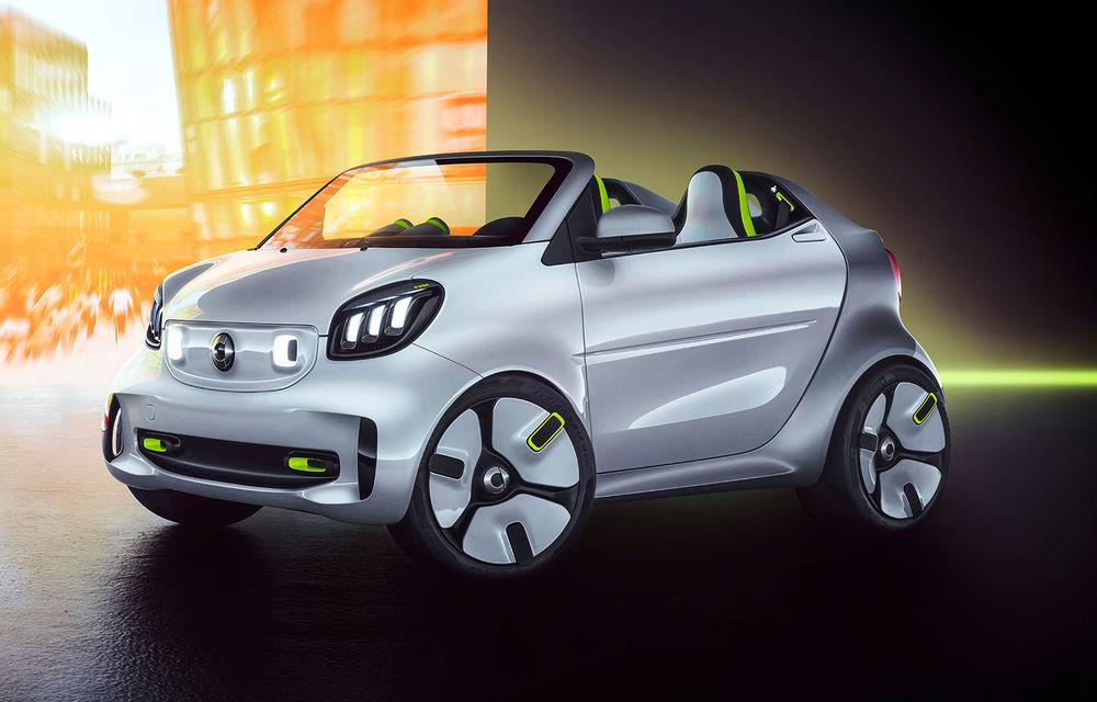 Smart Forease debutează la Paris: conceptul electric marchează 20 de ani de la debutul primului model Smart - Poza 1