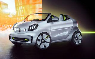 Smart Forease debutează la Paris: conceptul electric marchează 20 de ani de la debutul primului model Smart