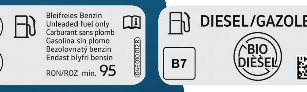 Coduri noi la pompele de carburanți: Benzină E5, E10 sau E85 și diesel B7, B10 sau XTL - Poza 3