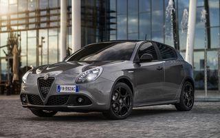 Alfa Romeo Nero Edizione: constructorul italian a lansat o ediție specială pentru Giulia, Stelvio și Giulietta
